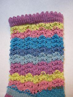 Easter Egg Socks by Linda Rice - free