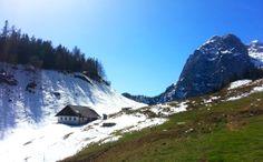 Frühjahrs-Wanderung auf die Halsalm am Hintersee - Berchtesgadener Land Blog