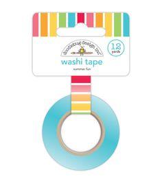 Doodlebug Sunkissed Summer Fun Washi Tape