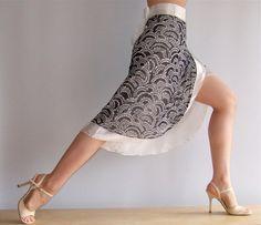Beautiful smooth skirt for newcomer or bronze ballroom dancers.