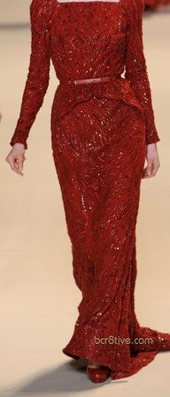 Elie Saab Fall Winter 2011 - 2012 Ready To Wear -- Would Perfectly Go With #Hijab