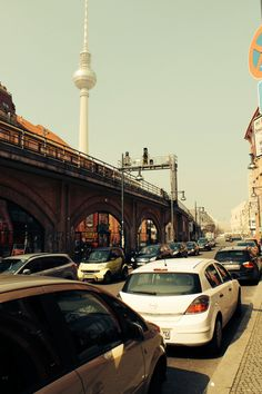 Berlin urban street