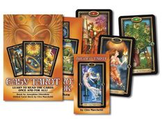 Created especially for beginners, the Easy Tarot kit is the easiest way to learn to read Tarot cards. In the Easy Tarot Handbook, author...