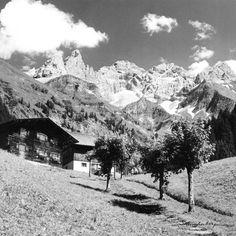 Einzigartige Bergbilder mit Geschichte. Das idyllische Einödsbach, nähe…
