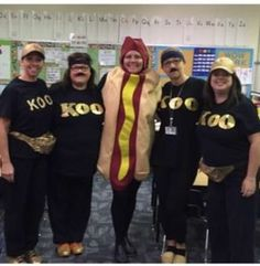 List of Best Ever Grade Level Costumes - Koo Koo Kangaroo from GoNoodle Teacher Costumes