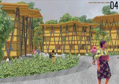 Galeria de Resultados do concurso estudantil de arquitetura bioclimática da IX Bienal José Miguel Aroztegui / Abrigos de Emergência - 21