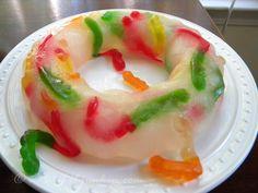 gummi gummy worm ice ring
