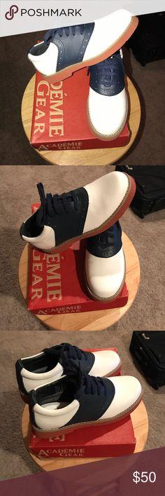 Boy's Saddle Shoes Preppy