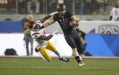 Christian McCaffrey is the new NCAA single-season all-purpose yards record holder.