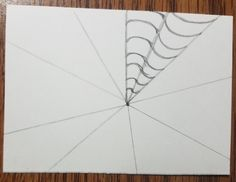 How to Draw an Op Art Bullseye - Art by Ro Drawing Practice, Line Drawing, Illusion Drawings, Bridget Riley, Victor Vasarely, White Highlights, Vanishing Point, Artist Trading Cards, Op Art