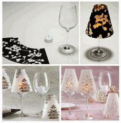 DIY : Wine Glass Candle Lamp   DIY & Crafts Tutorials