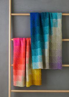 Ravelry: Mitered Corner Blanket pattern by Purl Soho Knitting Stitches, Knitting Patterns, Crochet Patterns, Blanket Patterns, Manta Crochet, Knit Crochet, Knitted Baby, Knitted Dolls, Knitting Projects