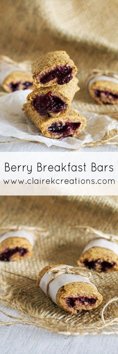 Recipes Breakfast Bars Berry breakfast bars via www. Healthy Breakfast For Kids, Breakfast On The Go, Breakfast Bars, Best Breakfast, Breakfast Casserole, Healthy Protein Bars, Healthy Snacks, Healthy Kids, Healthy Recipes