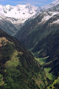 Austrian Valley of Mayrhofen