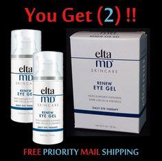 $38.99 EltaMD (2) Pack Skincare Renew EYE GEL Daily Eye Therapy New/Sealed FreeEXPShip #EltaMD #skincare #eyecare #eyegel #eyes #wrinkles