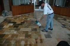 Natural stones such as marble, granite, sandstone and travertine will soak up oils and other liquids because they are porous materials. A sealer is applied to the stone, so that it will add a degree of stain resistance to the finished surface and extend the life wherever stones are used.