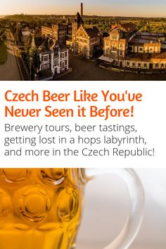 Beer Fans Looking for Travel Inspiration will love this! The Czech Republic produces some of the best beer in the world. Here are some of the best beer travel experiences in the Czech Republic! Budapest Travel, Prague Travel, Austria Travel, Norway Travel, European Destination, European Travel, European Vacation, Europe Travel Tips, Travel Destinations