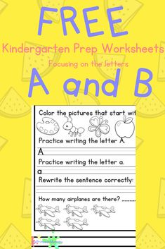 Are you a Preschool or Kindergarten / 1st Grade Teacher?  Are you a Homeschool Teacher or a Parent trying to prepare their child for Kindergarten?  Then, this resource is for you and it is a completely free printable!  #Kindergarten #TeacherResource #FreePrintable #ABCs #PiratePrincessMommy #Kinder #1stGrade #firstgrade #preschool #printable #teacher