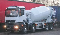 Brand new unregistered Mercedes cement mixer December 2014