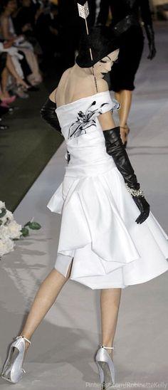 Galliano for Dior - Mariacarla Boscono