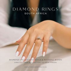 Save up to 60% from any RETAIL SHOP! Our mission is to deliver the highest quality Diamond Rings & Wedding Bands with a tailored price. #diamondringsfactory #diamondringsmanufacturing #diamondengagementrings #weddingrings Diamond Rings, Diamond Engagement Rings, Wedding Bands, Quality Diamonds, Retail Shop, Promotion, Jewelry, Jewlery, Jewerly