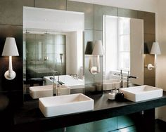 Love the idea of having black & white geometric bathroom accessories. Searching this wkend for sure!
