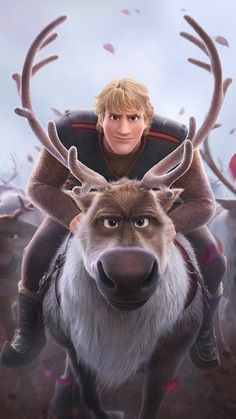 Image uploaded by Find images and videos about wallpaper, sven and frozen 2 on We Heart It - the app to get lost in what you love. Sven Frozen, Kristoff Frozen, Disney Frozen Elsa, Film Disney, Art Disney, Disney Kunst, Frozen 2 Wallpaper, Cartoon Wallpaper, Disney Wallpaper