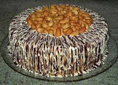 Cookie Desserts, Dessert Recipes, Chef Recipes, Cooking Recipes, Sand Cake, Hungarian Cake, Torte Cake, Russian Recipes, Drip Cakes