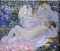 Frederick Carl Frieseke: Summer