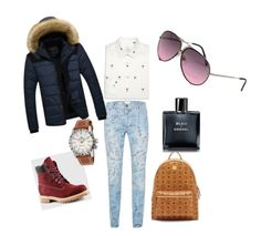 Street style by lenshop-gr on Polyvore featuring Topman, MCM, Paul Smith, Timberland, Chanel, Glycine and Porsche Design sunglasses http://lenshop.gr/manufacturers/9429-porsche-design/sunglasses