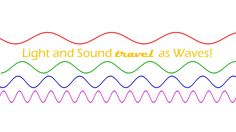 Light and Sound travel as Waves! (NGSS) This product was designed to help students realize that light and sound travel from one source to a [. Science Resources, Science Lessons, Teaching Science, Science Activities, Teacher Resources, Teaching Ideas, Science Fun, Science Ideas, School Resources