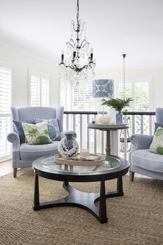 Helpful Interior Design Advice To Spruce Up Your Home - Cute Home Designs Hamptons Living Room, Hamptons Bedroom, Coastal Living Rooms, Hamptons House, Living Room Interior, Home Living Room, Living Room Designs, Living Room Decor, Hamptons Beach Houses