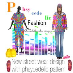 Phsycedelic fashion, design by Annabellerockz by annabelle-h-ringen-nymo on Polyvore featuring Diesel, NIKE and Chanel