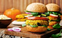 Cómo hacer hamburguesas vegetarianas de calabaza | Demos la vuelta al día