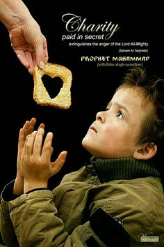 Prophet Muhammad (s.a.s )quote on giving charity