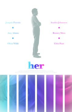 """My """"Her"""" film poster.  Available for purchase here:  https://www.etsy.com/shop/sap41387"""