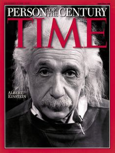 Time Magazine - Albert Einstein Person of the Century Dec. 31 1999 Time Magazine Collector Cover