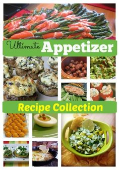 One of the largest collections of party appetizer recipes on the internet (includes gourmet, easy-to-make, starters, finger food, and amuse bouche recipes.