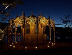 Wim Delvoye's 'Chapel' at Mona Museum, Hobart, Tasmania.