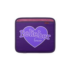 Belieber Forever iPad Sleeve - Justin Bieber