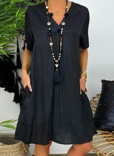 Elegant Dresses For Women, Casual Dresses, Summer Dresses, Floryday Vestidos, Petite Fashion Tips, Online Dress Shopping, Mode Outfits, Buy Dress, Maternity Fashion