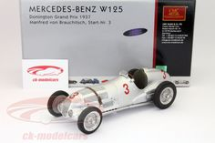 Mercedes-Benz W125, Donington Gran Prix 1937, No.3, Manfred von Brauchitsch. CMC, 1/18, Limited Edition 1000 pcs. Price (2016): 240 EUR.