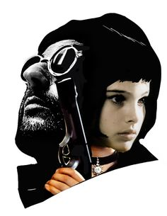 Veronica Fish Illustration: Leon The Professional for Gallery 1988 Crazy 4 Cult 6 NY