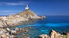 Punta Scorno Lighthouse, Asinara Island, Sardinia, Italy