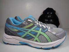 Womens Asics Gel Contend 3 Running Cross Training shoes size 7 T5F93N  #ASICS #RunningCrossTraining