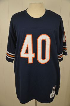 e5939ae992a Mitchell & Ness Chicago Bears 1965 Throwback Jersey #40 Gayle Sayers NFL  Size 52