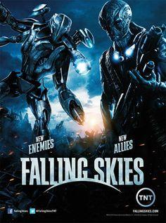 DJ alma e sua Filmografia Secreta: Seriados que amo: Falling Skies