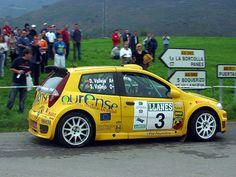 El Fiat Punto S1600 oficial de los hermanos Vallejo fue tercero en el Villa de Llanes 2004