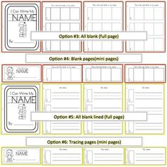 preschool printables from my teachers pay teachers store on pinterest number recognition. Black Bedroom Furniture Sets. Home Design Ideas