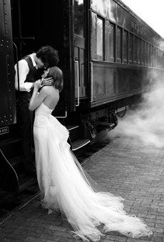 Love this train picture idea.